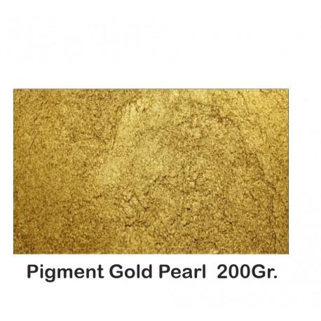 Pigment Metalic Auriu / Gold Pearl 200Gr.