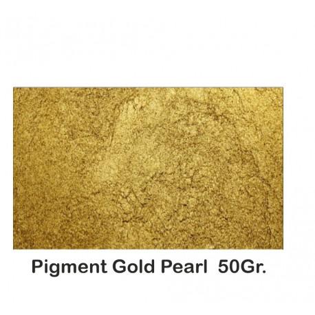 Pigment Metalic Auriu / Gold Pearl 50Gr.