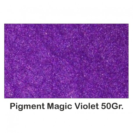 Pigment Metalizat Rasini & Lacuri Sintetice Magic Violet 50Gr.