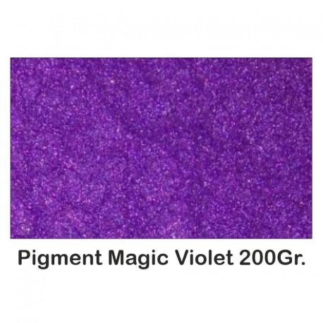 Pigment Metalic Rasini & Lacuri Sintetice Magic Violet 200Gr.