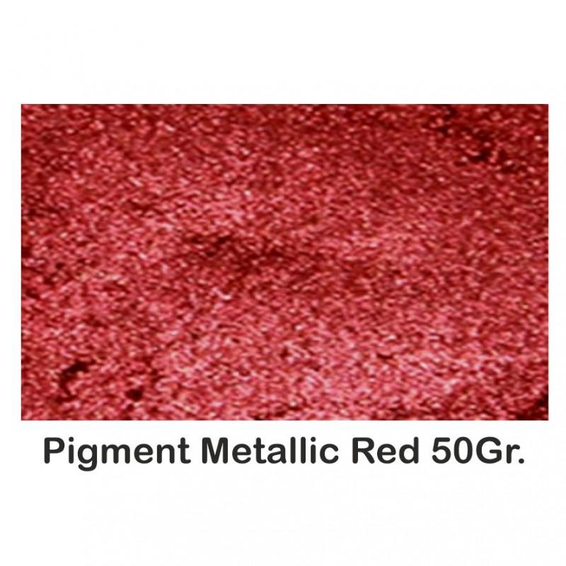 Pigment Metalic Rosu / Red 50Gr.