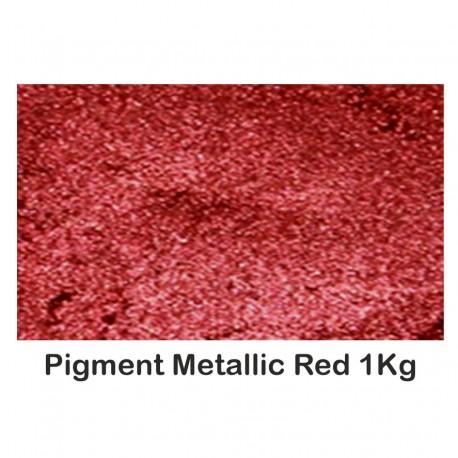 Pigment Metalic  Rosu / Red 1Kg.