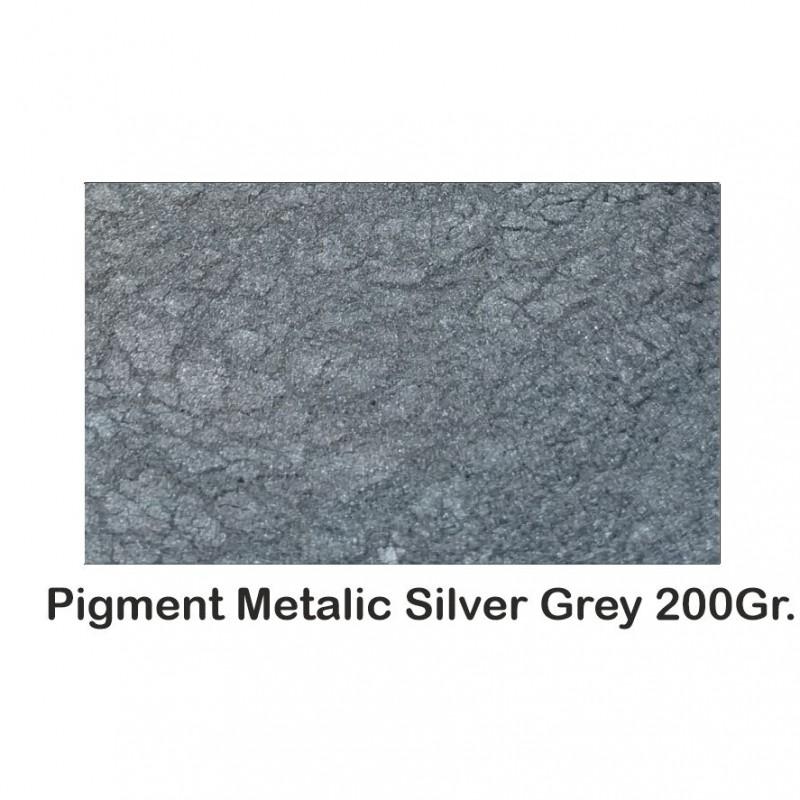 Pigment Metalic Gri Argintiu / Silver Grey 200Gr.