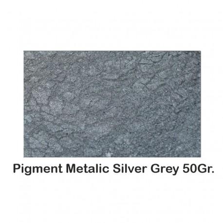 Pigment Metalic Gri Argintiu / Silver Grey 50Gr.