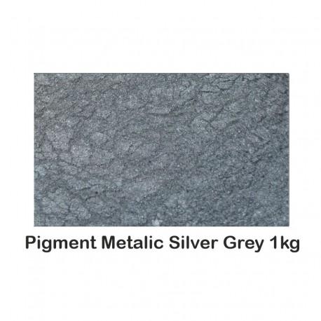 Pigment Metalic Gri Argintiu / Silver Grey 1Kg.