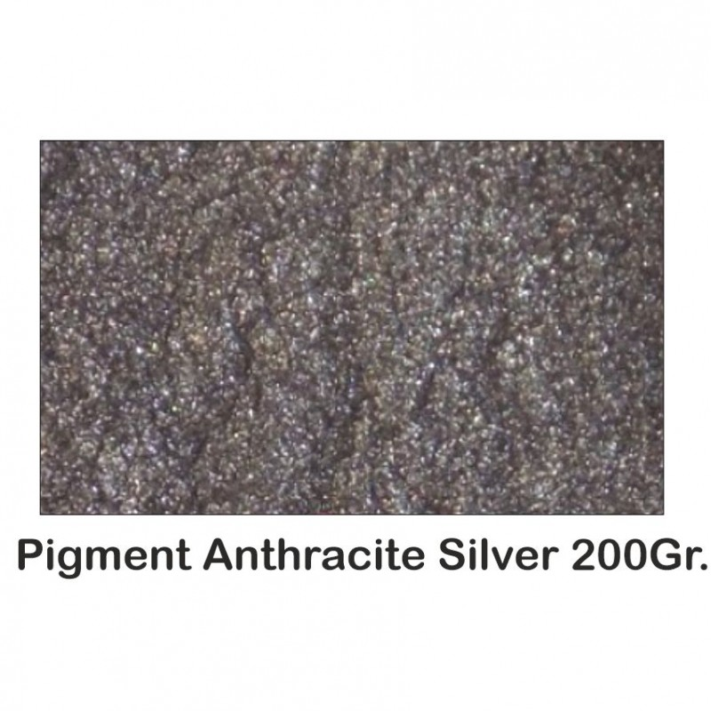 Pigment Metalic Gri Metalizat / Anthracite Grey 200Gr.