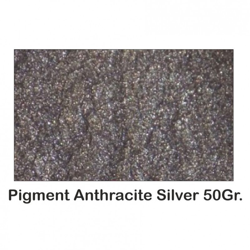 Pigment Metalic Gri Metalizat / Anthracite Grey 50Gr.