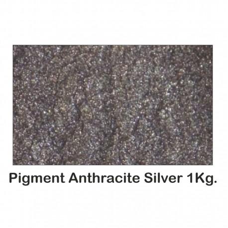 Pigment Metalic Gri Metalizat / Anthracite Grey 1kg