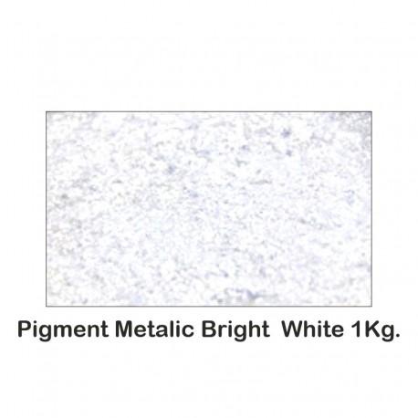 Pigment Metalic Alb Metalizat / Bright White 1Kg.