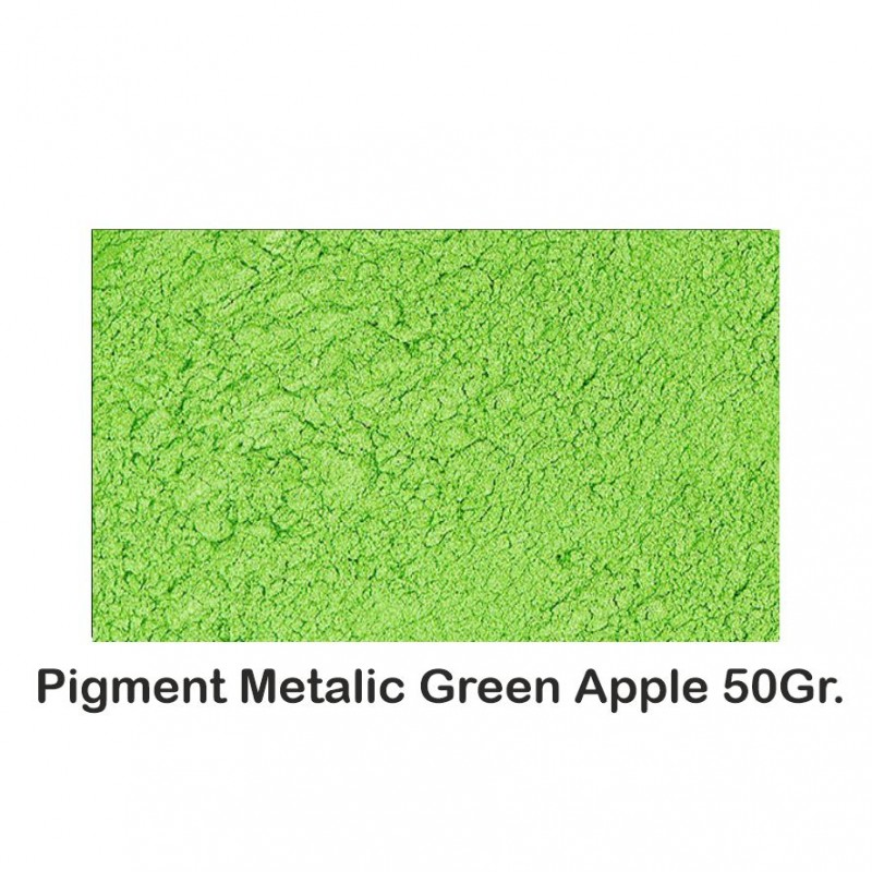 Pigment Metalic Green Apple 50Gr.