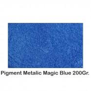 Pigment Metalic Albastru / Magic Blue 200Gr.