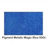 Pigment Metalic Albastru / Magic Blue 50Gr.