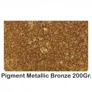 Pigment Metalic Rasini & Lacuri sintetice Bronze 200Gr.