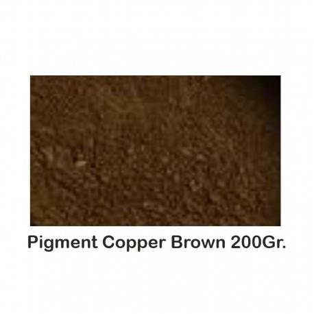 Pigment Metalic Copper Brown 200Gr.