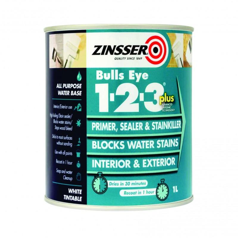 Amorsa Multisuprafete Antimucegai Zinsser 1-2-3 Plus 1 Litru