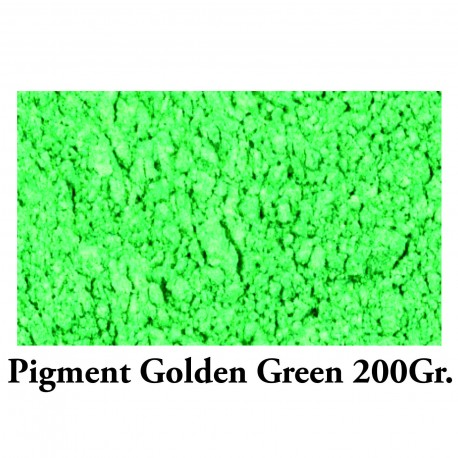 Pigment Metalic Golden Green 200Gr.