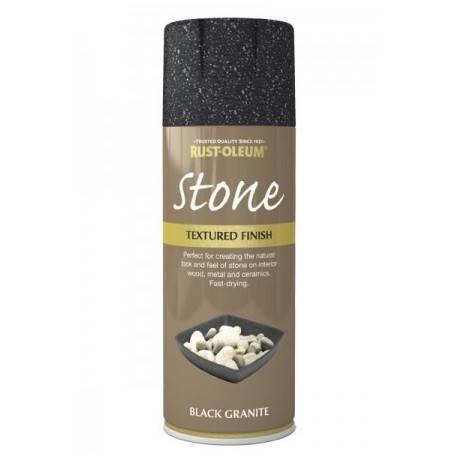Vopsea Imitatie Piatra Black Granite 400ml