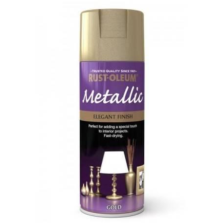 Vopsea Metalizata Gold 400ml