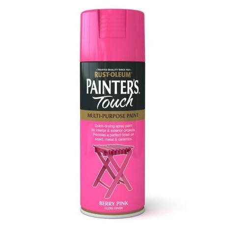 Vopsea Spray Painter's Touch Berry Pink Gloss 400ml