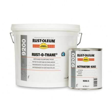 Lac Poliuretanic Transparent Satinat 9200 Rust-O-Thane 5 Litri