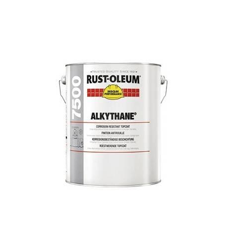 7500 Alkythane Vopsea Neagra pt Metal 1Litru