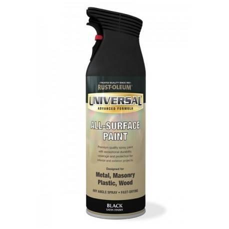 Vopsea Spray Universal Negru Satin 400ml