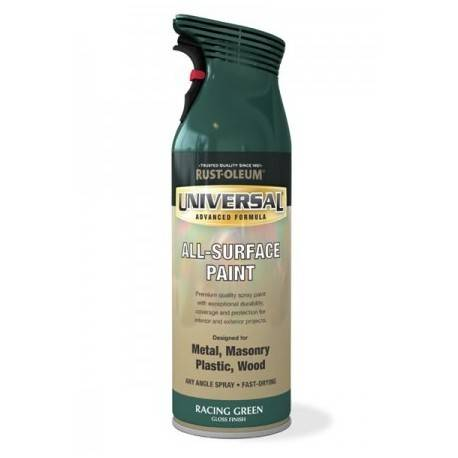 Vopsea Spray Universal Verde Lucios 400ml