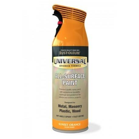 Vopsea Spray Universal Orange 400ml