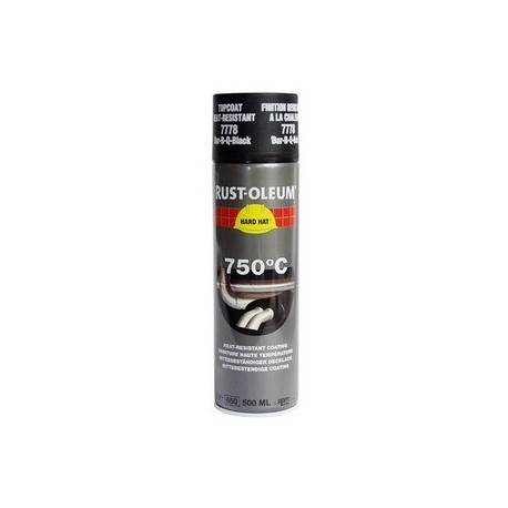 Vopsea Spray Temperaturi Inalte Black 750 C 500ml