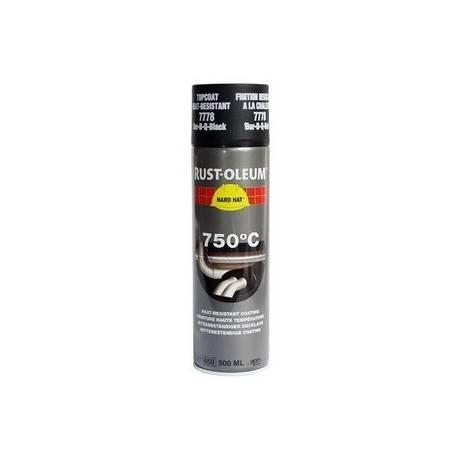 Vopsea termorezistenta 750°C. Spray Neagra Rust Oleum 500ml