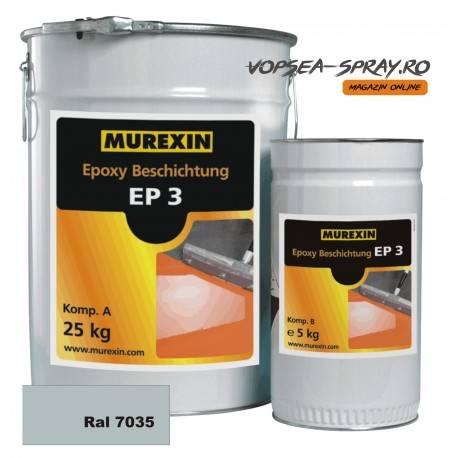 Rasina Epoxidica Autonivelanta EP3 Gri RAL 7035 30 Kg