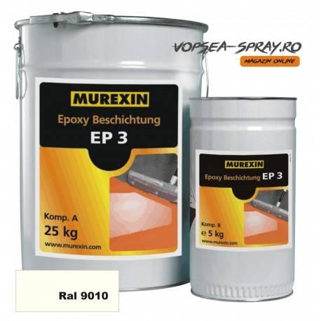 Rasina Epoxidica Autonivelanta EP3 Alb RAL 9010 30 Kg