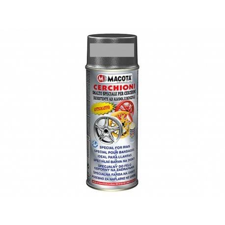 Spray Vopsea Jante Argintiu Metalizat Macota 400ml