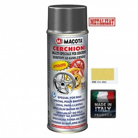 Vopsea Spray Jante Macota-Auriu Metalizat