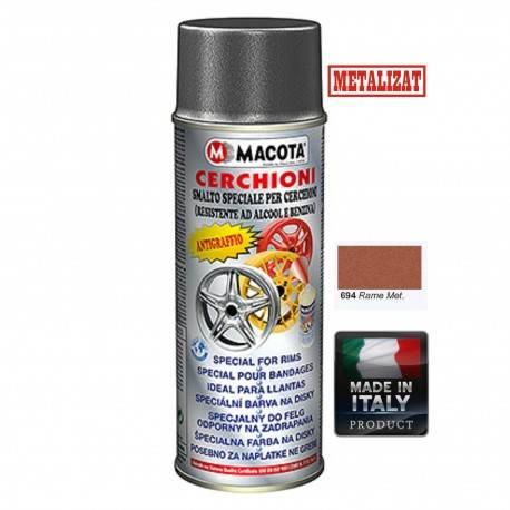Vopsea Spray Jante Macota Cupru Metalizat 400ml