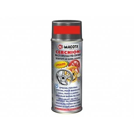 Vopsea Spray Jante Macota Rosu Metalizat 400ml