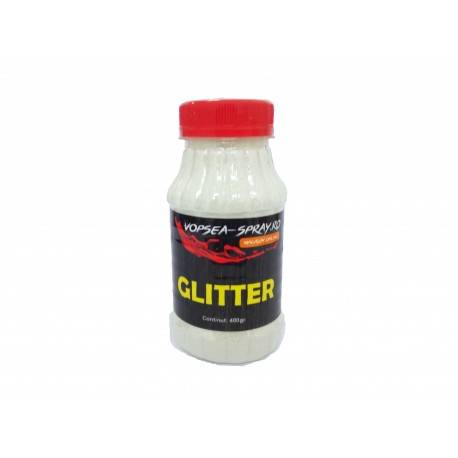 Sclipici Decorativ Alb (Glitter decorativ) 400gr.