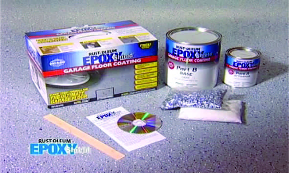kit vopsea epoxidica epoxyshield rust oleum